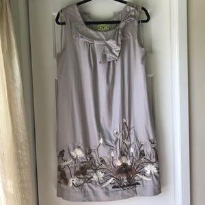 Floreat (Anthropologie) Finch & Thistle Bird Dress